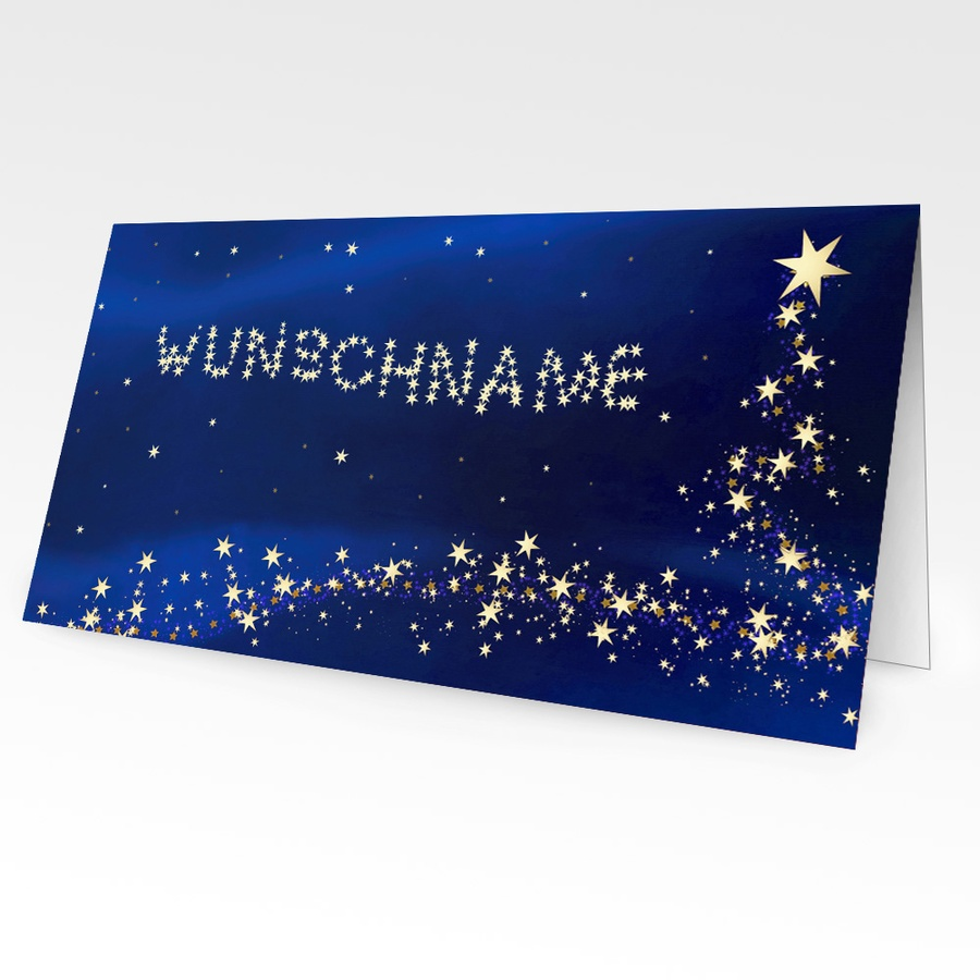 Personalisierte Weihnachtskarten mit Namen - inc4fun.de